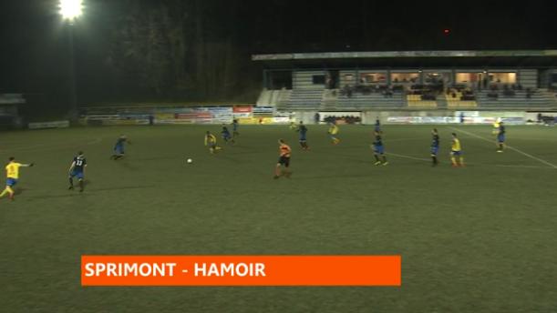 Un derby Sprimont - Hamoir avec quatre buts