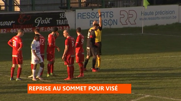 Football : Visé - Aische