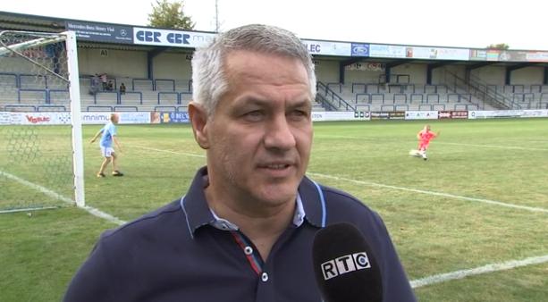 Football : Visé - Tilleur (Interview)