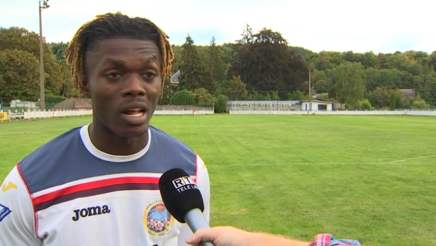 Football: Wanze Bas Oha - Dison : Interviews