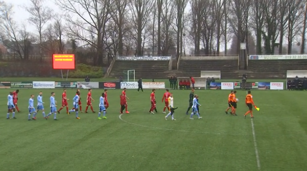 Football : Waremme - Francs Borains