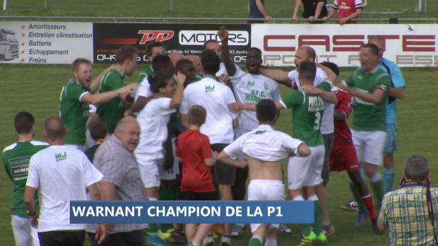 Football : Warnant champion à Amay