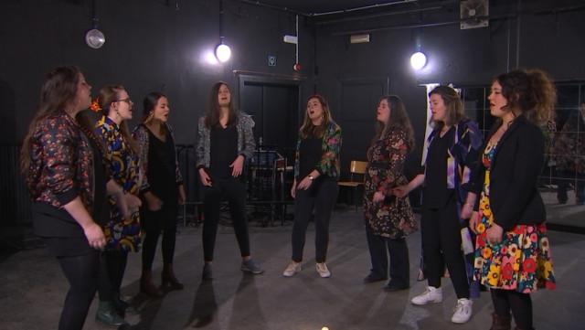 Friday Frida, un groupe vocal liégeois et féminin