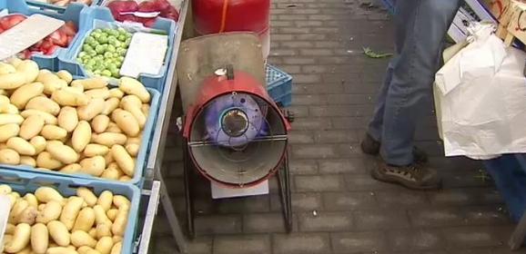 Froid polaire sur le marché de Saint-Nicolas