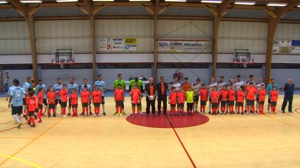 Futsal : AC Flémalle - Engie CHU Liège