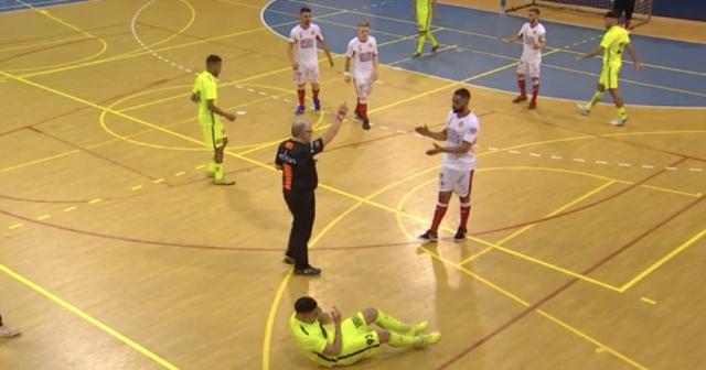 Futsal ; Beyne croque le candidat champion