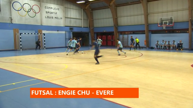 Futsal : Engie CHU - Evere