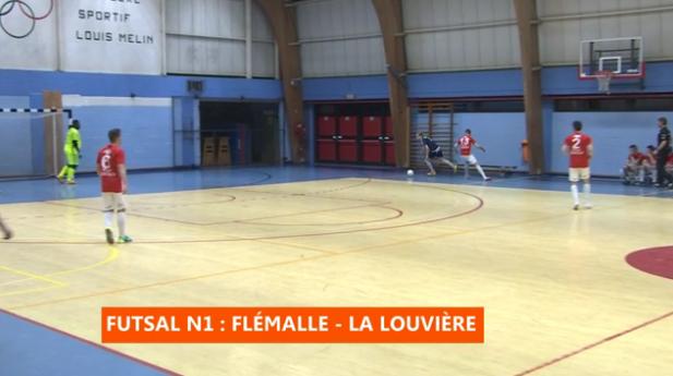 Futsal : Flémalle - La Louvière