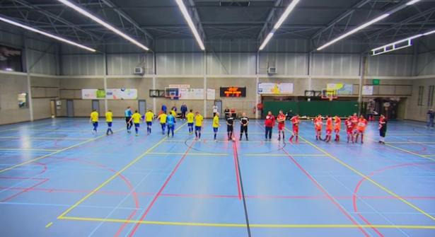 Futsal : Grâce-Hollogne - Ranst
