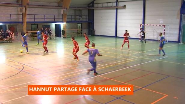 Futsal : Hannut - Schaerbeek
