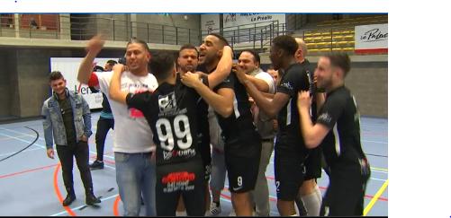 Futsal : Herstal 1453 est champion, avec la manière