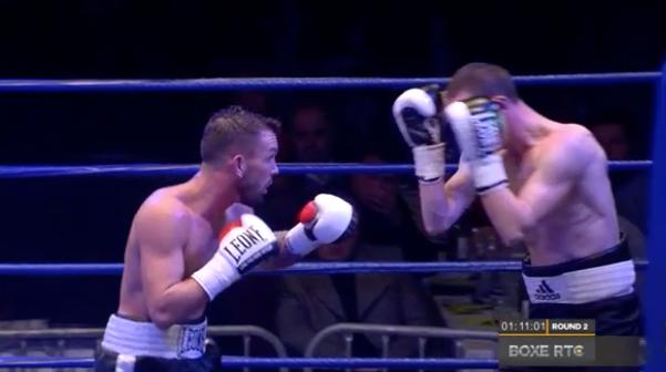 Gala de boxe: Stéphane Jamoye, retour gagnant!