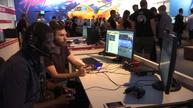 Game In et d'autres Liégeois au salon des jeux vidéos