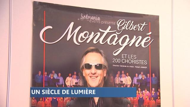 Gilbert Montagné pour les 100 ans de La Lumière