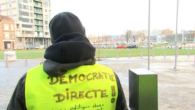 Gilets jaunes: blocage des services administratifs aux Guillemins