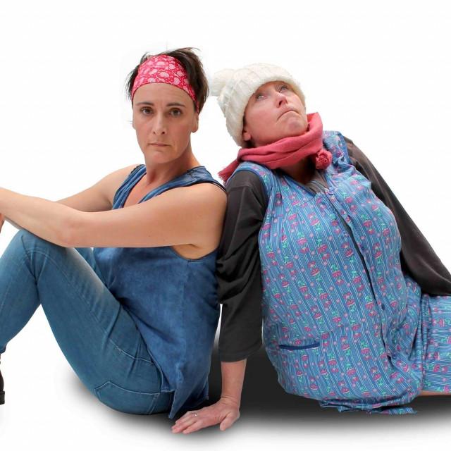 Gisèle Mariette et Manue Happart improvisent sur le confinement