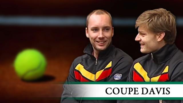 Goffin et Darcis pour emmener la Belgique en coupe Davis