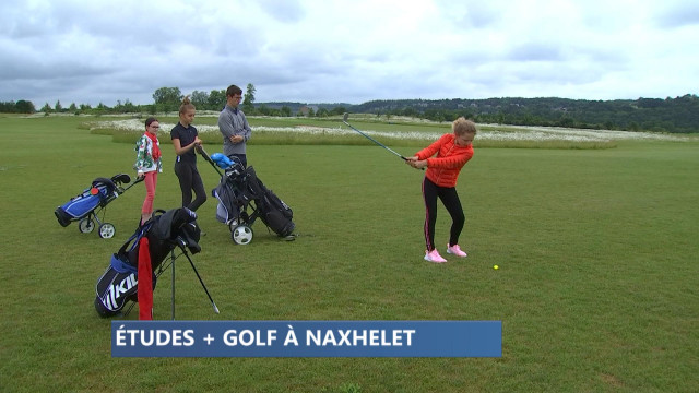 Golf et études secondaires à Naxhelet