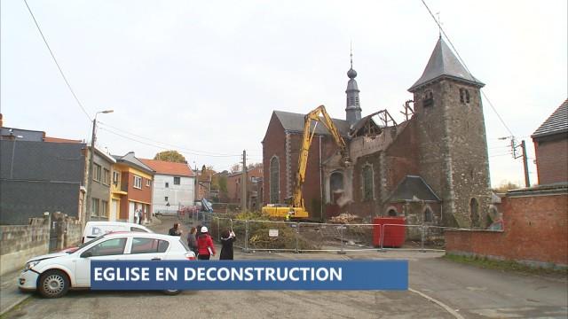 Grâce-Hollogne: église en déconstruction