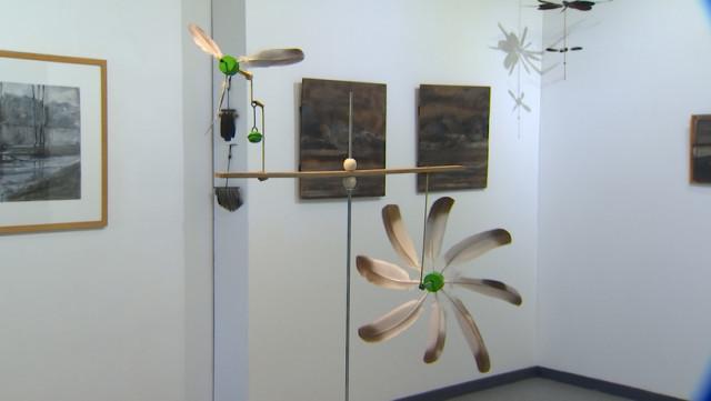 Gravures et girouettes au centre culturel de Wanze
