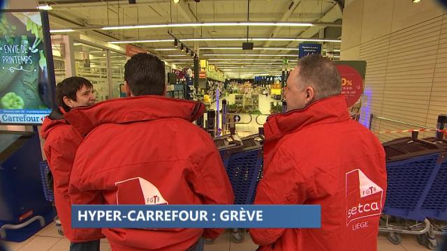 Grève dans les magasins Carrefour de la région