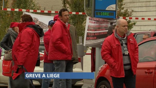 Grève des services public : le point en matinée à Liège