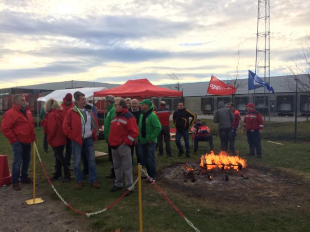 Grève tournante : les centres de tri de BPost bloqués