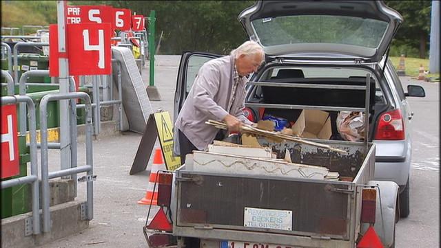 Grosse affluence dans les recyparcs, décalez votre visite !