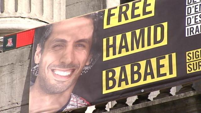 Hamid  Babaei, l'étudiant iranien de ULiège a été libéré