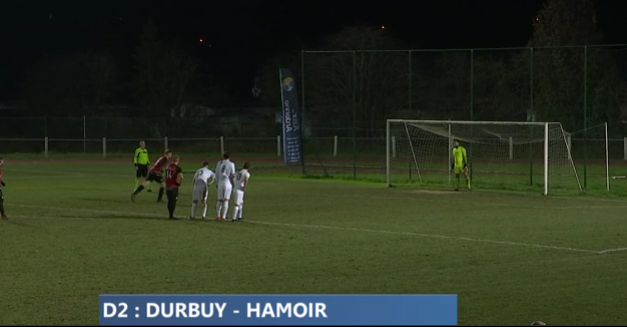 Hamoir va chercher un point à Durbuy