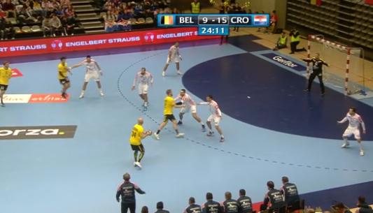Handball : Belgique - Croatie