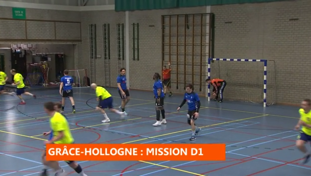 Handball : Grâce-Hollogne - Saint-Trond