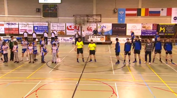 Replay: Handball : HC Visé - HC Neva Saint Petersbourg