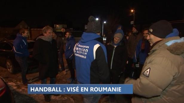 Handball : Visé en Roumanie 1