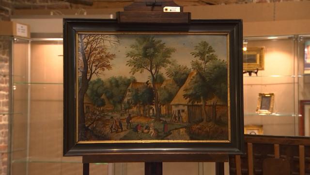 Hannut : un Brueghel aux enchères