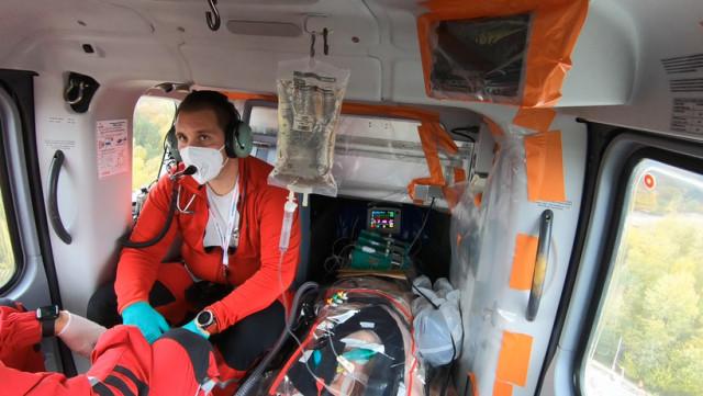 Hélico médical : renfort dans le ciel liégeois