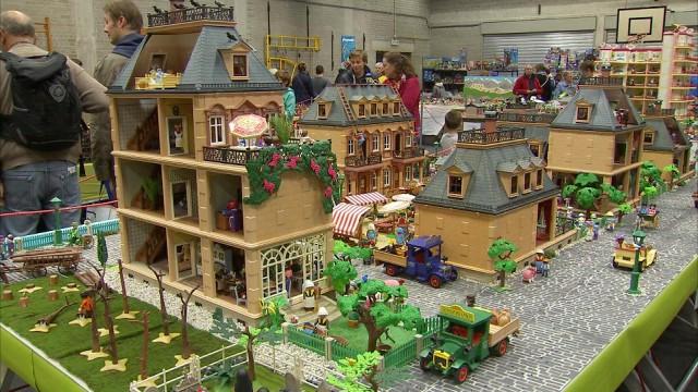Hermalle-sous-Huy : les Playmobil s'exposent par milliers