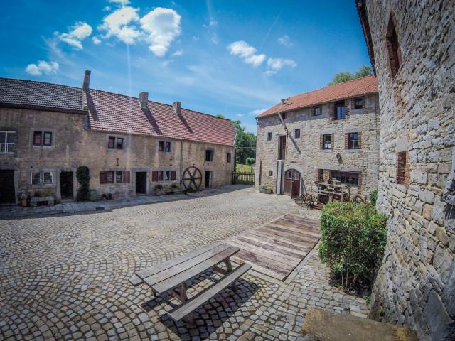 Héron : centre d'informations touristiques au Moulin de Ferrières