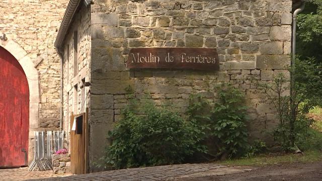 Héron : le moulin de Ferrières