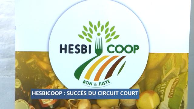 Hesbicoop: le succès du circuit court