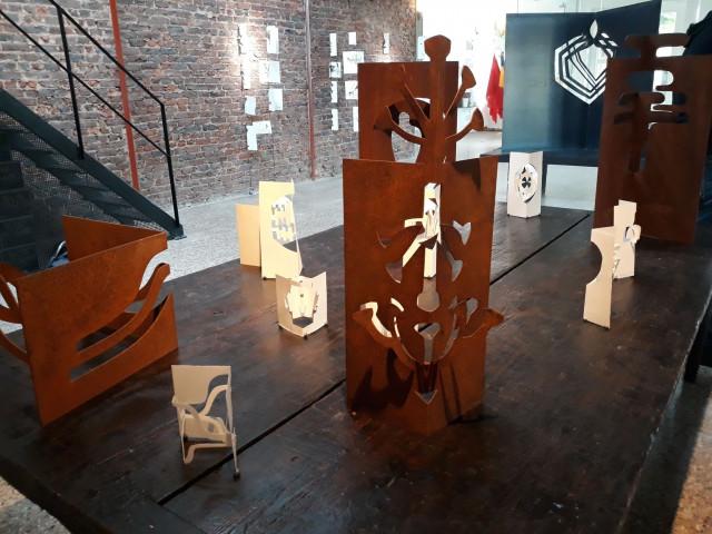 Histoires de sculptins -  Exposition d' Alquin