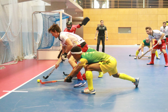 Hockey Indoor : la coupe du monde à Liège en 2021 !