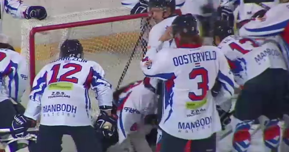 Hockey sur glace: Bulldogs Liège - Hijs Hokij Den Haag