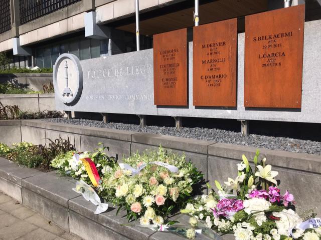 Hommage aux deux policières assassinées en 2018