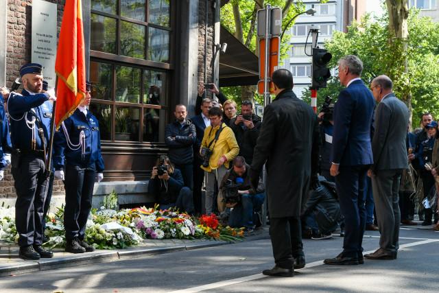 Hommage aux victimes de l'attentat du 29 mai 2018