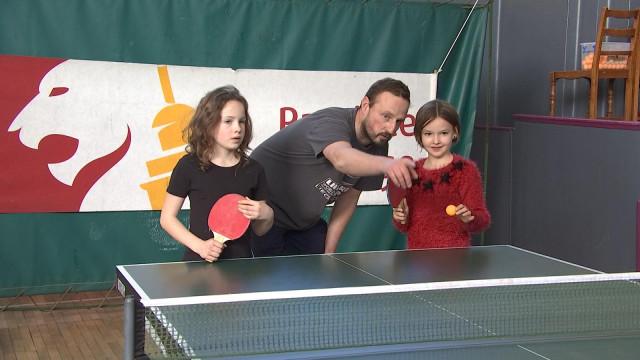Huy : découverte ludique du tennis de table