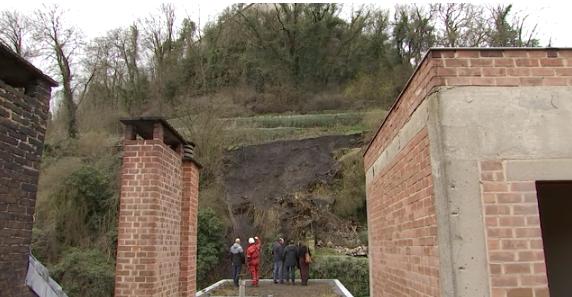 Huy: nouvel effondrement au pied du Fort