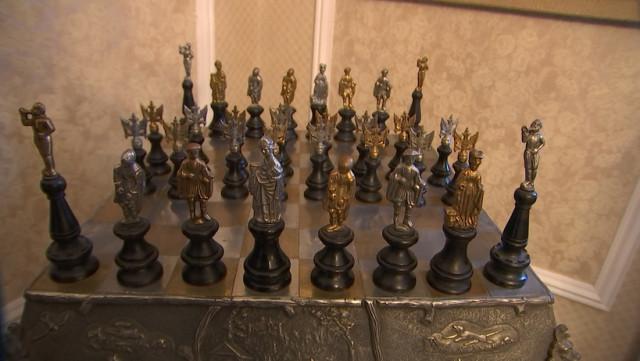 Unique : un jeu d'échecs à vendre