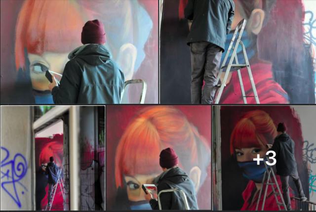 HYER revient sur sa fresque à la mémoire d'Alysson