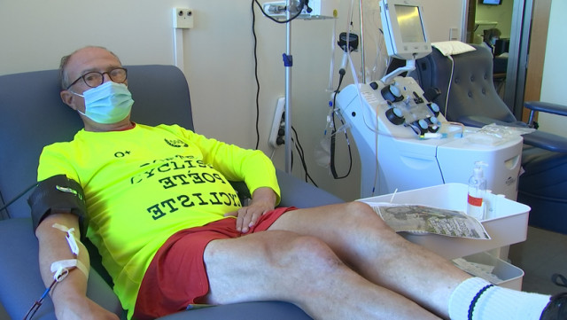 Il donne son sang 500 fois en 40 ans